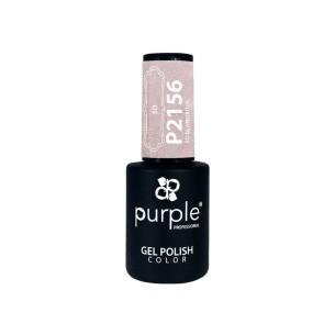 Esmalte Gel P2156 So Glamorous Purple Professional -Esmalte semi permanente -Purple Professional