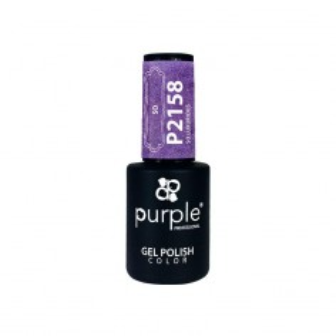 Esmalte Gel P2158 So Luxurious Purple Professional -Esmalte semi permanente -Purple Professional