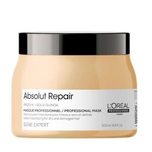 Mascarilla Absolut Repair Gold L'Oreal Serie Expert 500ml -Mascarillas para el pelo -L'Oreal