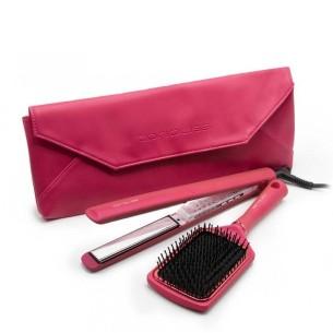Plancha C3 Flower Collection Corioliss + Cepillo -Hair Straighteners, Tweezers and Curlers -Corioliss