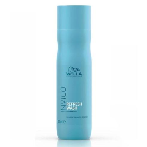 Champú Refresh Wash Wella Invigo 250 ml -Shampoos -Wella
