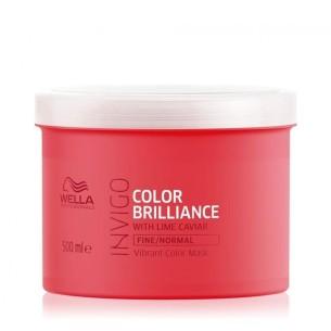 Mascarilla Brilliance Wella Invigo 500 ml -Hair masks -Wella