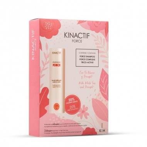 Kinactif Anti-Hair Loss Force Pack -Drop -Kin Cosmetics