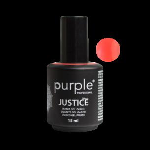 Esmalte Gel Nº892 Justice (Neon) 15ml Purple