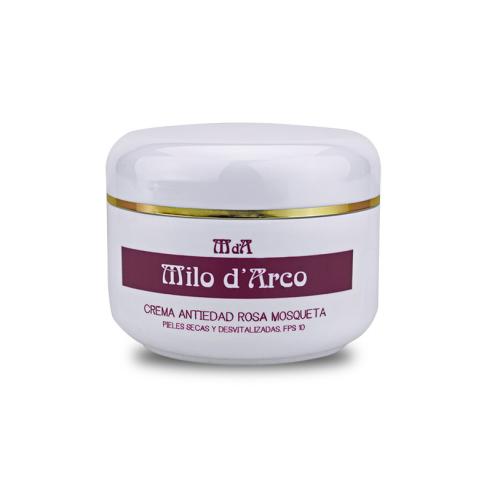 Crema antiedad rosa mosqueta FPS10 200ml Milo D'Ar
